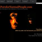 『normalpornfornormalpeople.com』謎のサイト